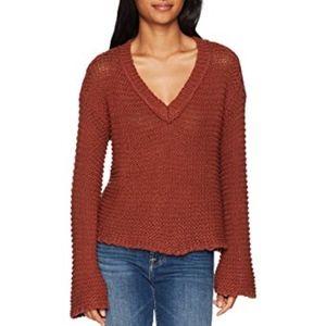 NWT O'Neill XS Hillary Knit V-neck Sweater